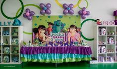 """Photo 29 of 59: monsters inc """"Monsters inc 3r birthday party"""" 