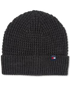 3c651133f4a Tommy Hilfiger Ribbed Knit Beanie   Reviews - Hats