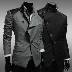 Free Shipping New arrival British slim Men's suits,Irregular leisure blazer for men,casual wedding suits men,you worth have it ! US $29.99