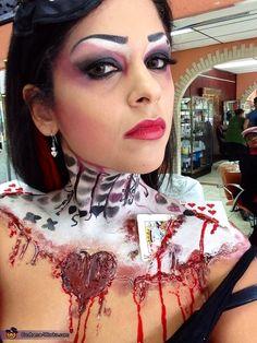 Queen of Broken Hearts - Homemade costumes for women
