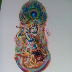 Khrisna Watercolor Design