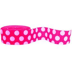 Crepe Streamer Pink And White Polka Dot  - $8.95 See more at  http://myhensparty.com.au/