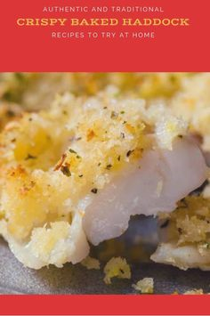 Crispy Baked Haddock Searching for delicious and easy Fish Recipes ? This will become your favorite Tilapia Fish Recipes, Easy Fish Recipes, Salmon Recipes, Baked Haddock Recipes, Fish Varieties, How To Cook Fish, Baked Fish, Baking Recipes, Diet Recipes