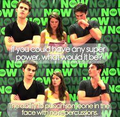 Hahahah I love Paul