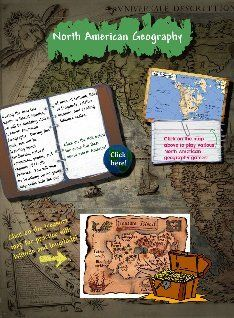 Social Studies Unit 1 - North American Geography-Elementary