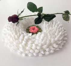 Beyaz lahana lif #crochet #knit #knitting