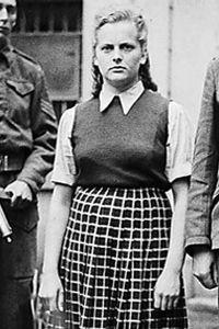 """Las """"Furias de Hitler"""", el lado femenino del Holocausto nazi (+fotos) Foto: Irma Grese, guardia de campo de concentración"""