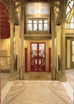 Art Nouveau Interiors