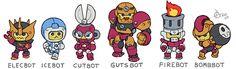 Megaman 1 Legends Bonne Boss ServeBots