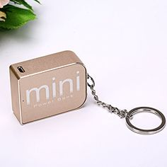 Keychain Mini Powerbank DSELL Mobile Phone Power Bank Mini usb Universal Portable External Battery Backup Power Charger * You can find out more details at the link of the image. Portable Charger, Technology Gadgets, Dog Tag Necklace, Usb Flash Drive, Personalized Items, Mini, Phone, Electronics, Image