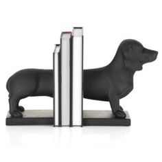 More Dachshund bookends! ♥