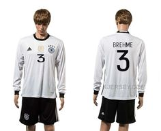 http://www.xjersey.com/germany-3-brehme-home-youth-euro-2016-long-sleeve-jersey.html GERMANY 3 BREHME HOME YOUTH EURO 2016 LONG SLEEVE JERSEY Only 33.11€ , Free Shipping!