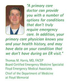Five Reasons You Should Have a Primary Care Physician