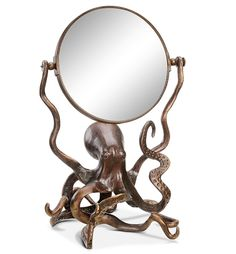 Octopus Tabletop Mirror