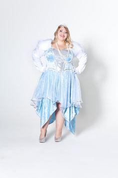 Deiters, Kostüm, Fasching, Karneval, Plus Size, Eiskönigin