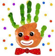 - Wir drucken die Clowns Fantavolando Stampiamo i pagliacci Kids Crafts, Clown Crafts, Valentine Crafts For Kids, Toddler Crafts, Preschool Crafts, Carnival Theme Crafts, Circus Theme, Theme Carnaval, Bird Nest Craft