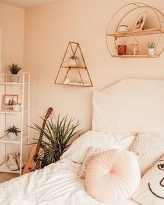 Home Interior Decoration .Home Interior Decoration Cute Bedroom Ideas, Cute Room Decor, Bedroom Inspo, Bedroom Decor, Trendy Bedroom, Aesthetic Room Decor, Dream Rooms, My New Room, Room Inspiration