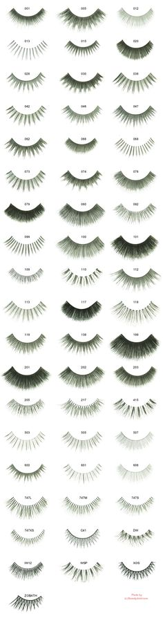 CHERRY BLOSSOM False Eyelashes. These are so much fun for a special night out!                                                                                                                                                                                 More