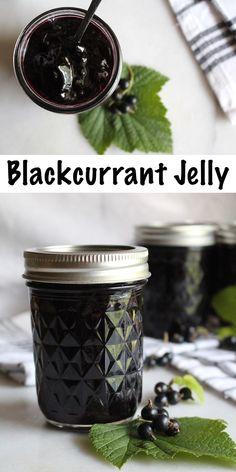 Jelly Recipes, Jam Recipes, Canning Recipes, Fruit Recipes, Summer Recipes, Recipe Using Jam, Currant Recipes, Kitchens, Marmalade