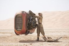 """30. At one point, Rey warns BB-8 to """"stay off Kelvin Ridge."""" Kelvin was the name of director J.J. Abrams' grandfather, and he makes it a point to sneak a Kelvin reference into most of his work. 