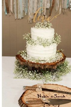 Wedding cakes and decorations