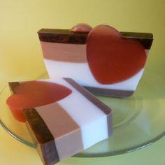 My Yummy Valentine Soap by TheBathtubBakery on Etsy, $8.00