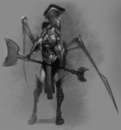 God of War Ascension Pictures Characters Concept Artwork 60