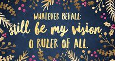 whatever befall.