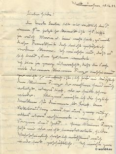 German Letter in Sütterlin cursive handwriting 1933