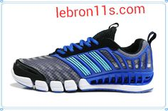 Lebron11s.com Wholesale Adidas CC Aerate 2 W Climacool Aerate II Running Shoes Black Cobalt Light Aqua G66539 Discount To $58.69