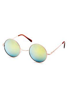 sunglass161117302 2 La Mode De Budget, Jeans, Lunettes De Soleil, Arrondi,  Frame, bfd65c481380