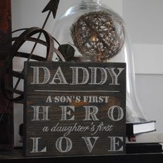 Saying for a DIY #Father's Day gift idea