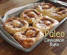 This Paleo Cinnamon Roll recipe is a sweet success! It's not easy for ...