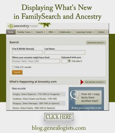 Revision Bars: Displaying What's New in @FamilySearch and @Ancestry.com Official  http://blog.genealogists.com/2014/01/revision-bars.html #genealogy