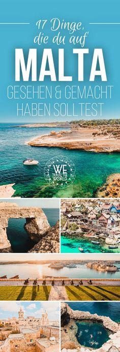 Malta Highlights – Unsere 17 Malta Reisetipps für deinen Malta Urlaub. Ob Valletta, Malta Strände oder Malta Unterkünfte, wir haben alles für dich aufgeschlüsselt. #malta #urlaub #reisetipps #highlights