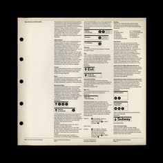 New York City Transit Authority Graphic Standards Manual, designed by Massimo Vignelli and Bob Noorda of Unimark International, 1970