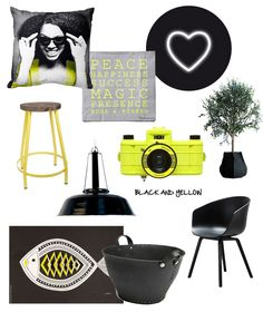 Trend: Black and yellow #inspiration #myhomeshopping