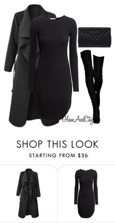 """Untitled #88"" by glamandcity ❤ liked on Polyvore featuring H&M and Chanel"