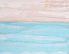 A personal favorite from my Etsy shop https://www.etsy.com/listing/254860824/ocean-painting-sandy-skies-original-oil