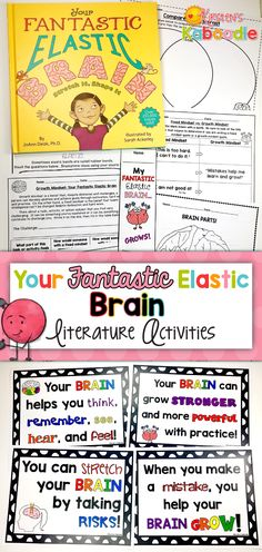 Are you teaching your students about growth mindset? Your Fantastic Elastic Brain by JoAnn Deak is a perfect segue for teaching your students the power of growth mindset. Infused with reflections, challenges (including a STEM challenge for creating slingshots using rubber bands), and opportunities to identify and clarify growth mindset vs fixed mindset, your students are sure to learn and have a great deal of fun!