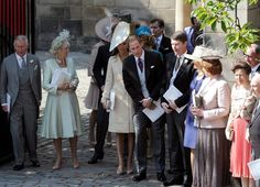 Prince Charles Camilla Parker Bowles Photos: Royal Wedding of Zara Phillips to Mike Tindall