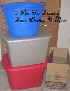 5 Tips For Staying Sane During A Move! (across town or out-of-state!)