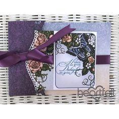 Heartfelt Creations - Joy Fold Floral Card Project