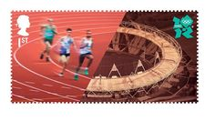 London 2012 Olympics Stamps