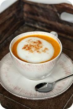 Frl. Moonstruck kocht!: Hot'n'spicy Pumpkin-Drink
