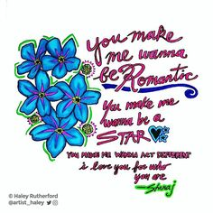 Lyric illustration of #Romantic by @stanaj 🤓⚘🌹💋 This guy can sing!!🎤🎹 #vocals #talent #drawing #illustration #illustrator #music #lyrics #lyricart #lyricseries #love #relationships #flowers #sketch