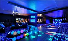 Cosmic bowling at home? Or maybe pinball? Why not? Sure to be popular with the kids and their friends.