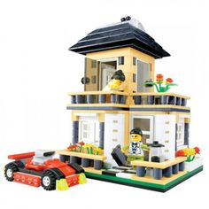 Modern Townhouse - Lego Compatible