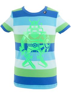 "#Danefae T-Shirt ""Coldwater Robovik"" - € 30,75 - Wikimo Kindermode, Kinder Shirt, blau grün gestreift by Danefae Kind Mode, Pullover, Mens Tops, Fashion, Green Stripes, Blue Green, Spring Summer, Tops, Guys"