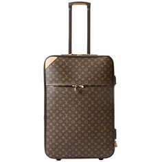 Pre-owned Louis Vuitton Luggage Trolley Pegase 65 ($3,760) ❤ liked on Polyvore featuring bags, luggage, louis vuitton and handbags and purses